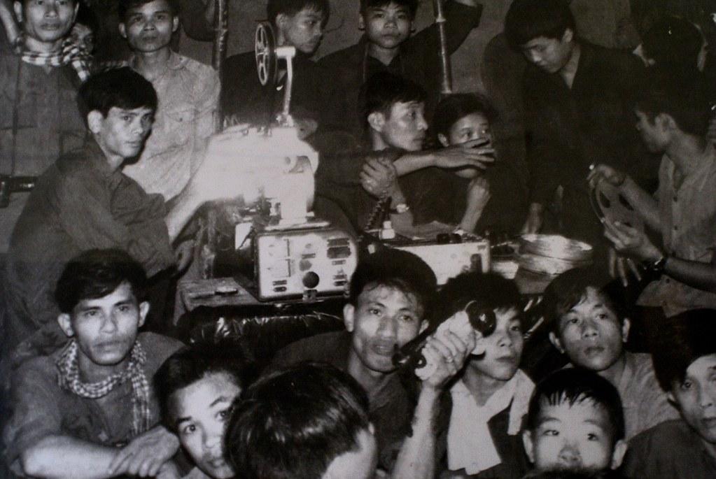 Photo à la Cinémathèque d'Hanoi.