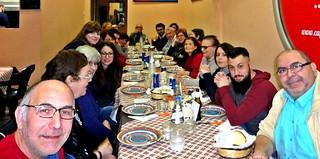 Casamassima-Associazione Emmaus un tuffo nel passato-I membri del Gruppo e dell'Associazione Emmaus riuniti per i 20 anni insieme