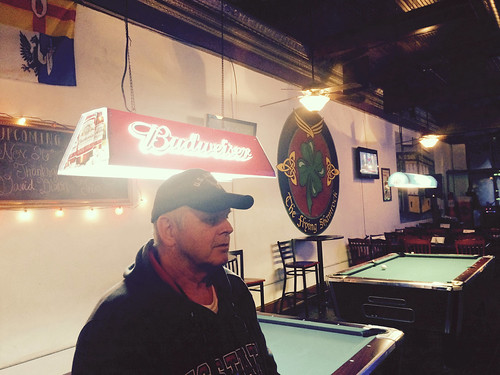 Dad at The Flying Shamrock (November 26 2014)