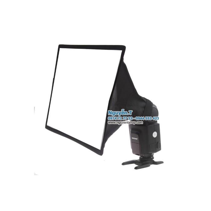 Tản sáng softbox 20x30cm đèn Flash
