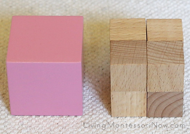 Building a Cube Layout (Pink Tower Extension)