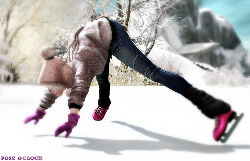 Pose O'Clock - The Clumsy Iceskater - 4