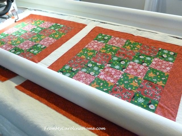 Quick Christmas squares 8