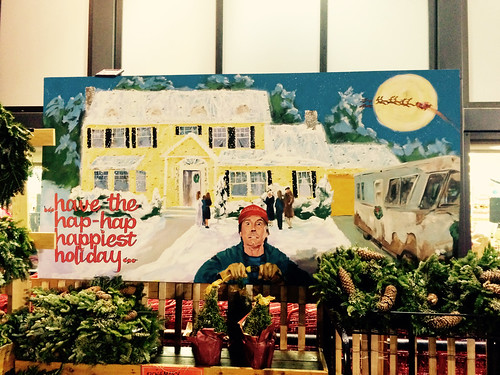 Chevy Chase Christmas Vacation Mural at Trader Joe's (December 9 2014)