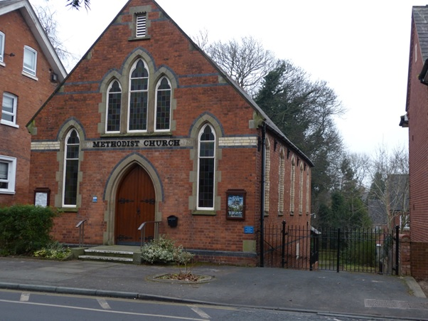 SHREWSBURY, Belle Vue Methodist Church