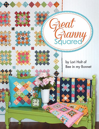 great granny twist  blog hop - great granny squared book
