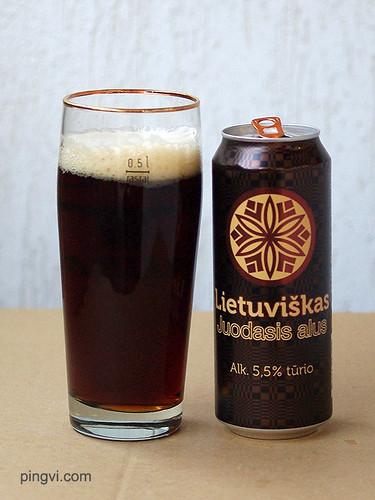 Lietuviškas juodasis alus