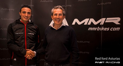 Jose Manuel Mora piloto oficial Past-Racing en 2016