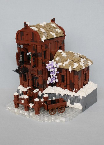 Curved Thatch Roof Tutorial Innovalug Lego Users Group