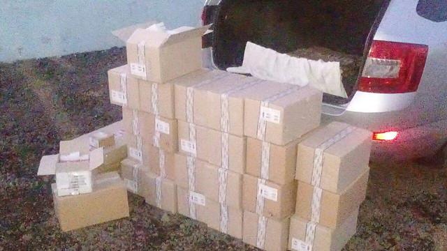 За добу СБУ вилучила на Донеччині нелегальні товари на 4,5 мільйона гривень_2