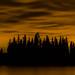 Ness Lake Cityglow by robertdownie