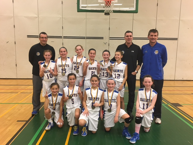 Tecumseh Saints Atom Girls (U11)