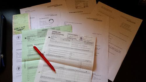 Mosconi, Federico; Mannheim, Germany - 5 Forms, Paperwork, and German Bureaucracy