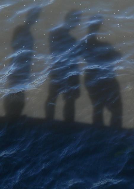Foto en las olas