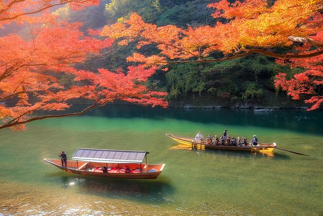 Rowing Arashiyama, Nikon D750, AF-S Nikkor 18-35mm f/3.5-4.5G ED