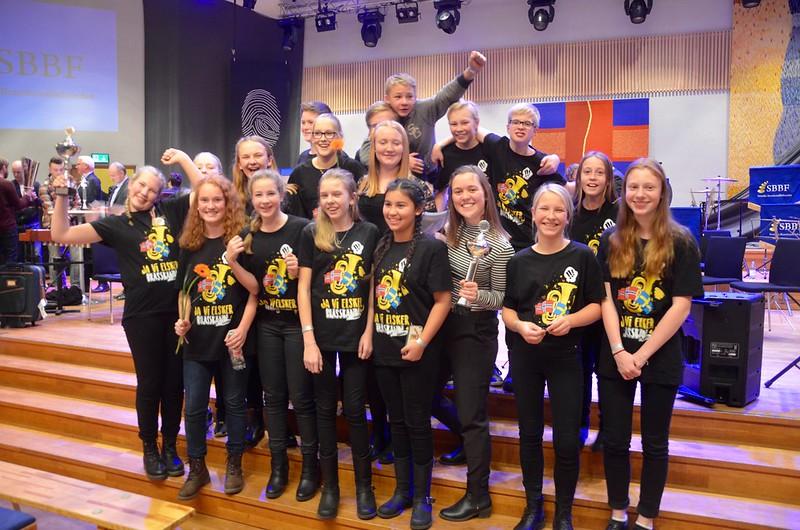 BUBB - Bors Ungdomsbrassband vann!