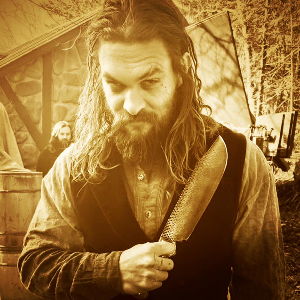 Jason Momoa Knives: My Friend Is A Blacksmith In Fort Worth. Yesterday He Had
