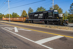 NS 3364 | EMD SD40-2 | NS Memphis District West End