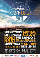 Oban Live - Early Bird Tickets