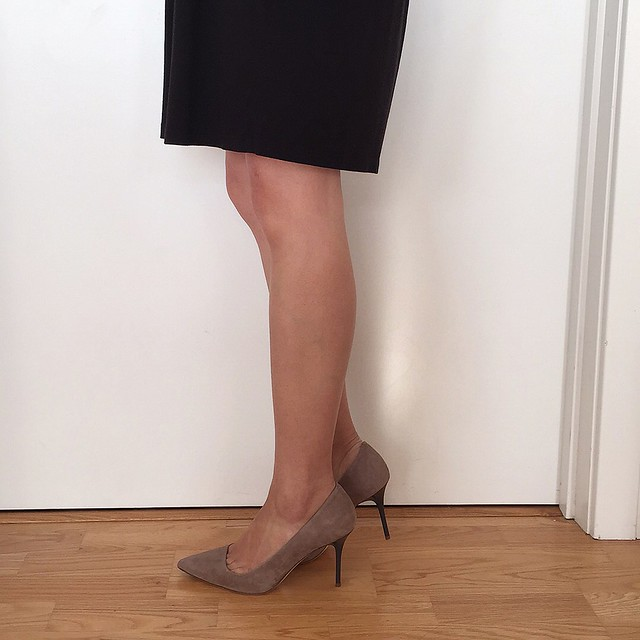 J.Crew Elsie Pumps With Enamel Heel in kraft brown