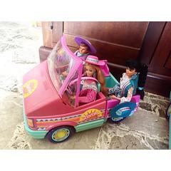 Barbie suncharm magic van 1989 nia ken western fun Barbie rotoplast Venezuela