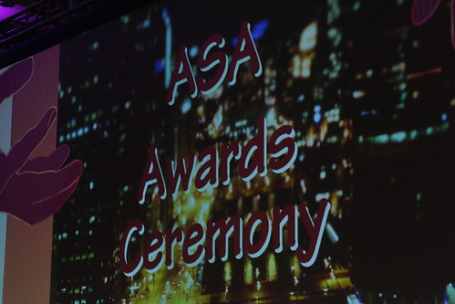 ASA 2015 Annual Meeting Awards Ceremony