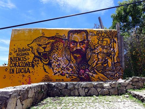 Murales en San Cristobal d.L.C.