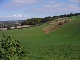 Ascending the Sundon Hills