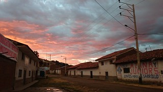 Atardecer en Ticampampa