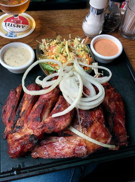 smoked ribs @ Café de Klos