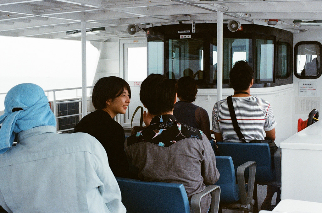 相島 Ainoshima, Fukuoka 2015/09/02 搭船。  Nikon FM2 / 50mm Kodak UltraMax ISO400 Photo by Toomore