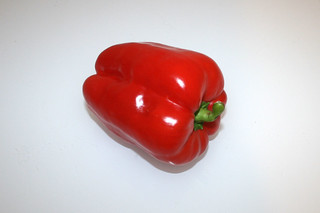 02 - Zutat Paprika / Ingredient bell pepper