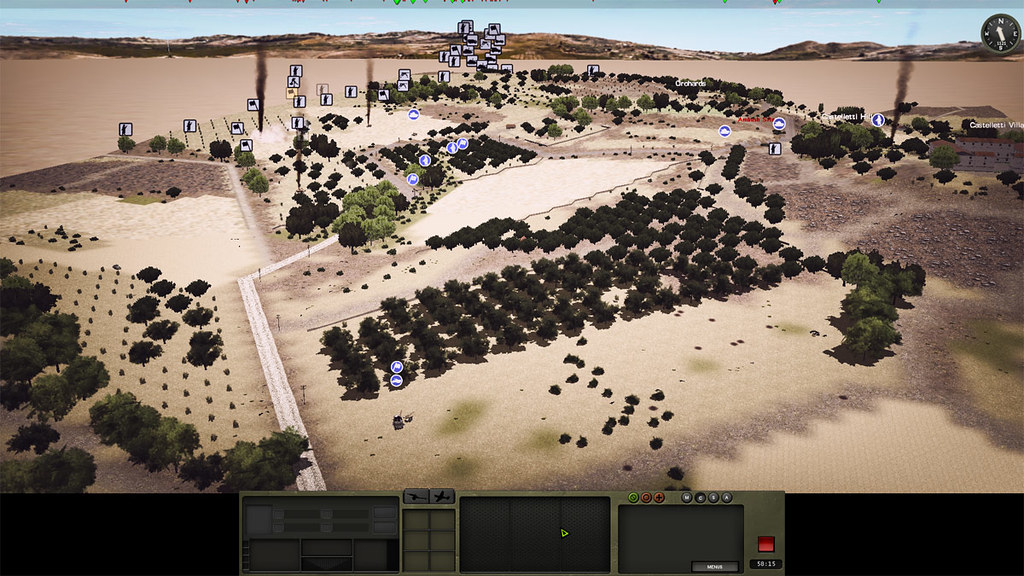 03b_Combat_Mission_Fortress_Italy_War_Movie_ADVANCED_mode