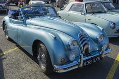 automobile, jaguar xk120, jaguar xk140, vehicle, automotive design, antique car, classic car, vintage car, land vehicle, luxury vehicle,