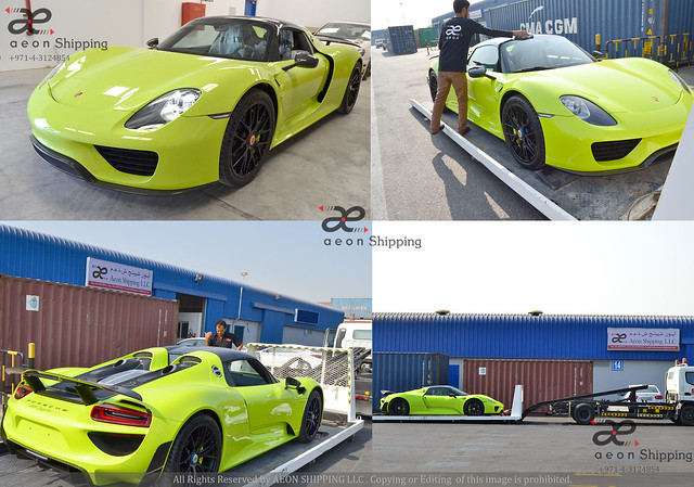 LUXURY CAR SHIPPING / EXOTIC CAR SHIPPING FROM DUBAI UAE