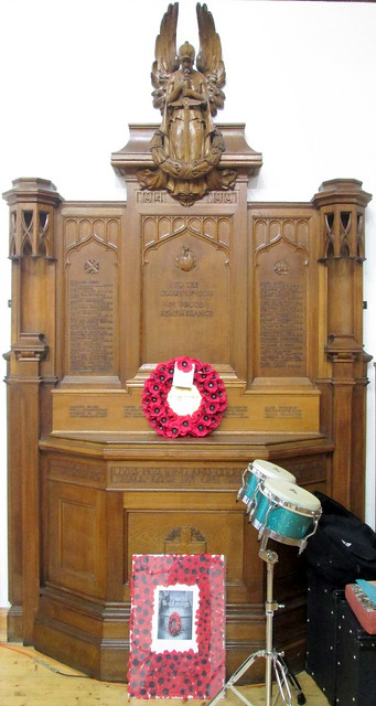 War Memorial, St Augustine's Episcopal Church, Dumbarton