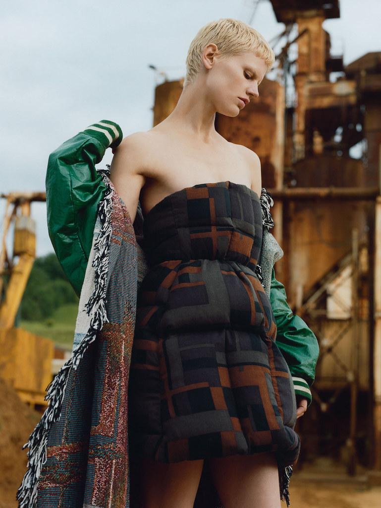 Саския де Брау — Фотосессия для «Vogue» UK 2015 – 12