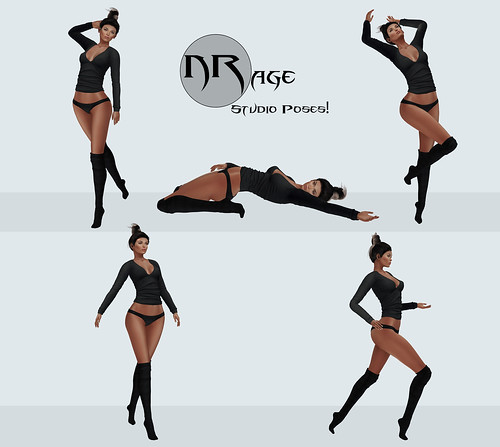 NRage Studio Poses! - Art Dancer