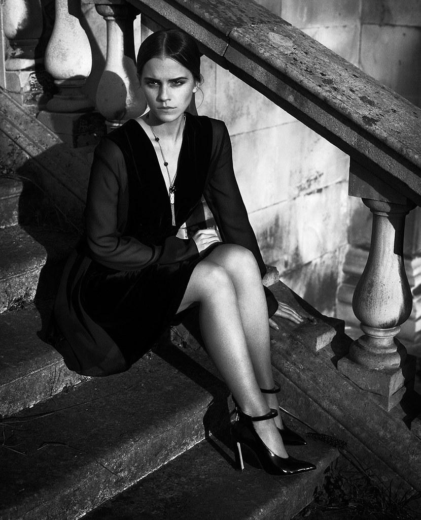 Эмма Уотсон — Фотосессия для «Vogue» IT 2015 – 8