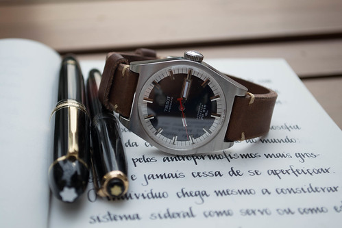 Montblanc 149, Montblanc 244G e Tissot PR516 GL Heritage