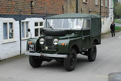 789XUJ 1953 Land Rover 86 Series 1