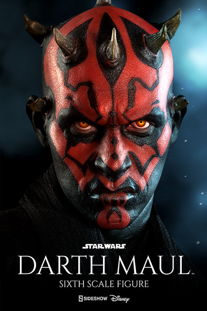Sideshow Collectibles【達斯.魔】Darth Maul 1/6 比例人偶作品