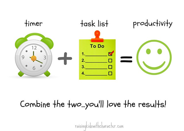 Timer  Task List  Productivity  Character Ink