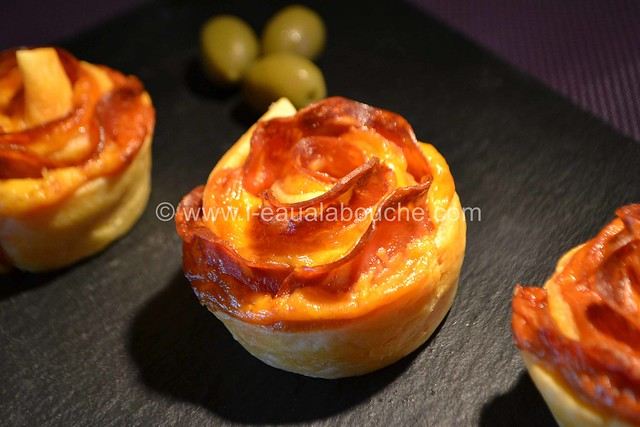 Rose au Chorizo et au Cheddar © Ana Luthi Tous droits réservés 21