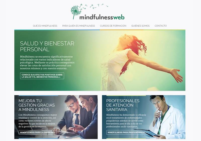 Página principal de Mindfulness Web