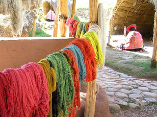 Peru Sacred Valley Weaving
