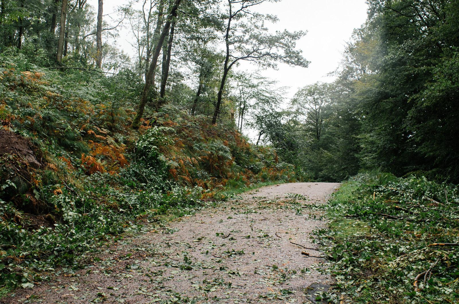 Grande traversée du Morvan - Après l'orage