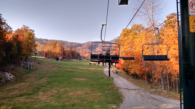 Oct 23 2015 Massanutten Ski Lift Ride (3)