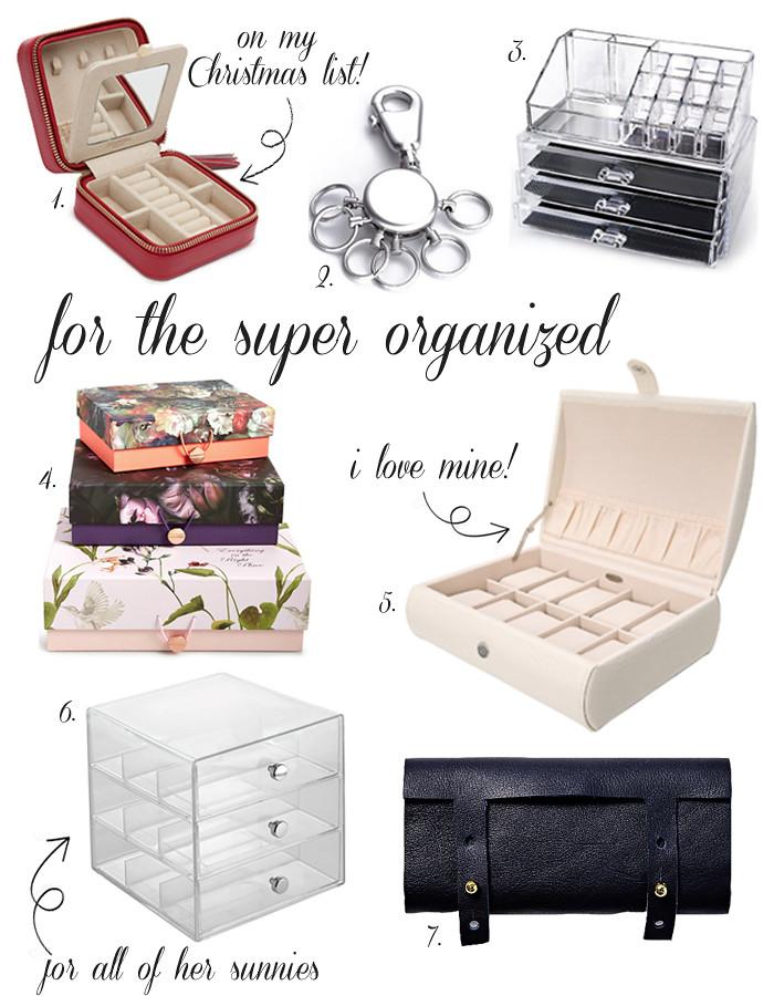 organized giftguide