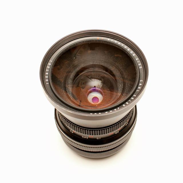 Carl zeiss JENA DDR FLEKTOGON 50mm/4.0 MC PENTACON SIX